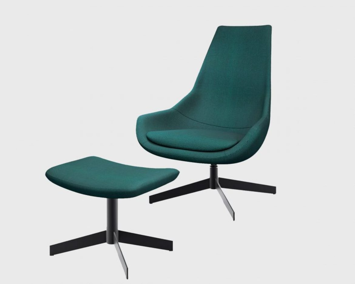 An image of a green chair