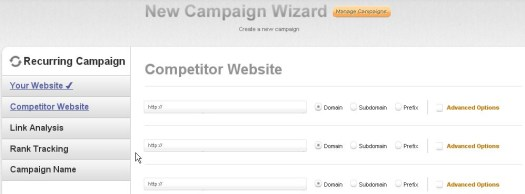 competitor website