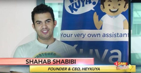 Image result for Shahab Shabibi, 21, cofounder of Machine Ventures