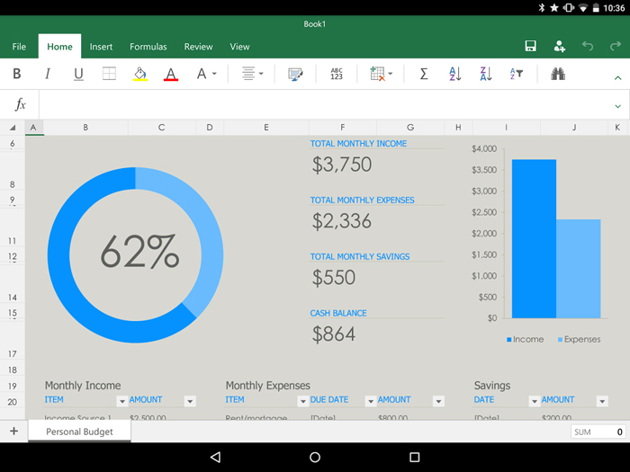 Microsoft Office for Tablets (Android) Review: Is It Good for Business?