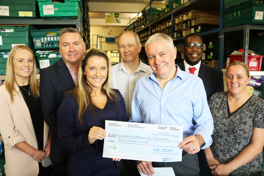 Seaham business raises over £30,000 for charities across the region