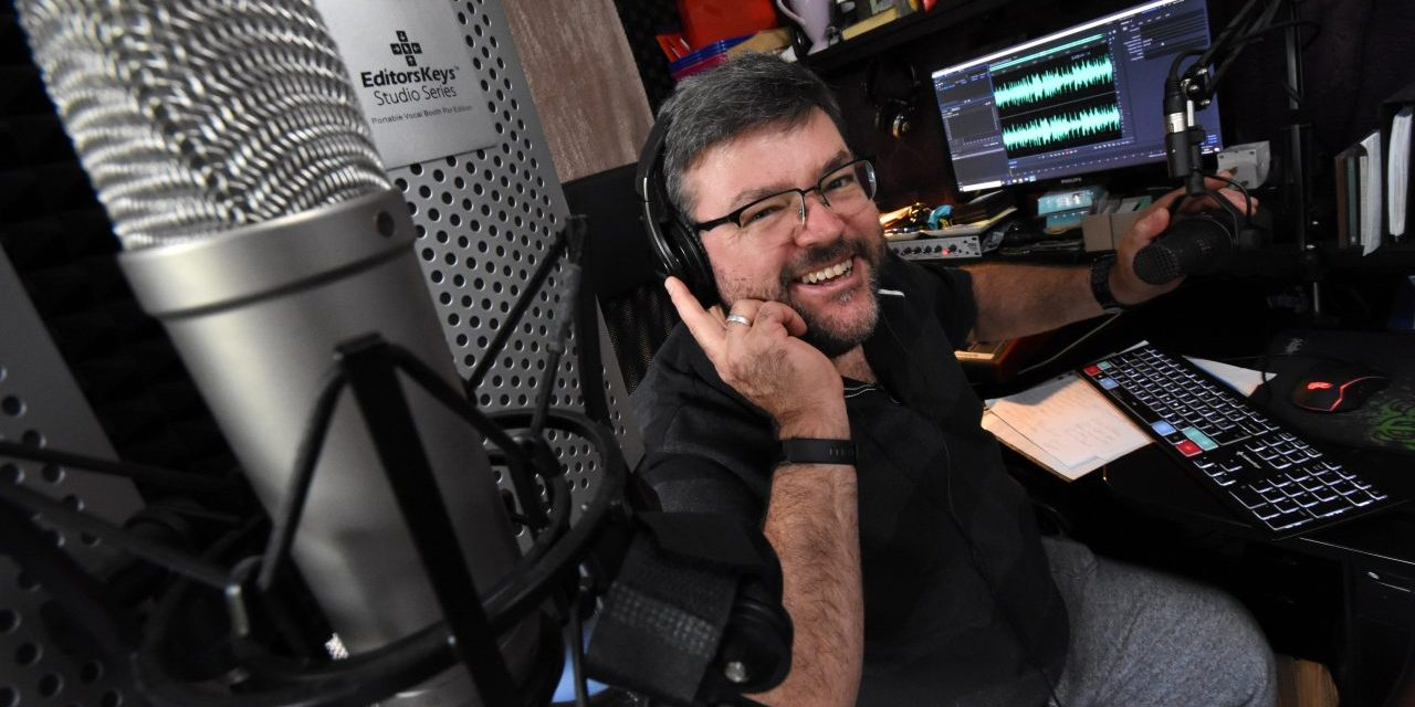Former BBC man launches voice-over business