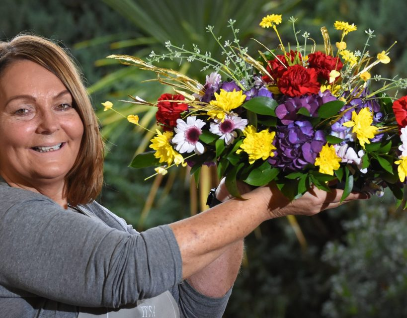 Business is blooming for Alison as she uses flower power to inspire and educate