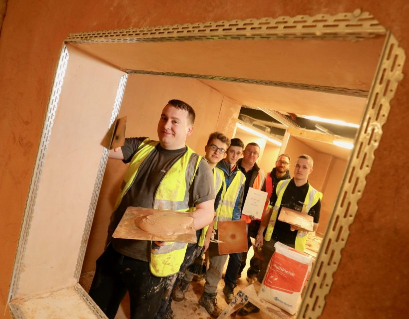 Plastering students to benefit from national partnership