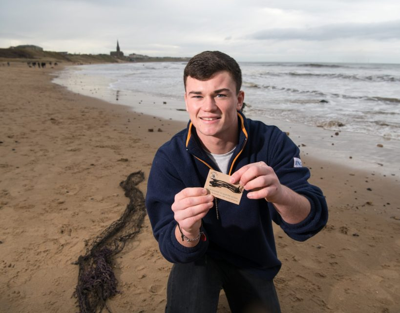 Uni student proves he's an OceanJunkie as he launches his own business