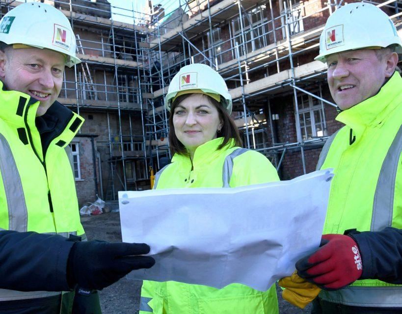 Work begins on prestigious residential development in Northumberland