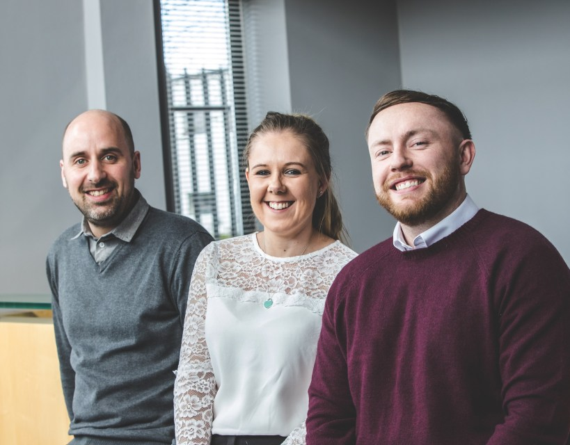 New recruits for fast growing County Durham financial firm