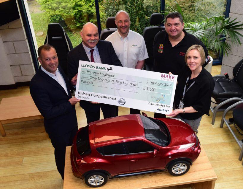 Engineering talent programme receives £1,500 boost from Sunderland manufacturer