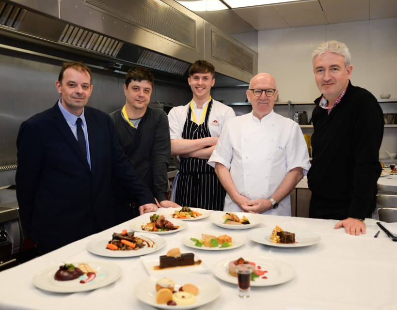 Talented chefs from two regional hotels triumph at prestigious North cooking competition