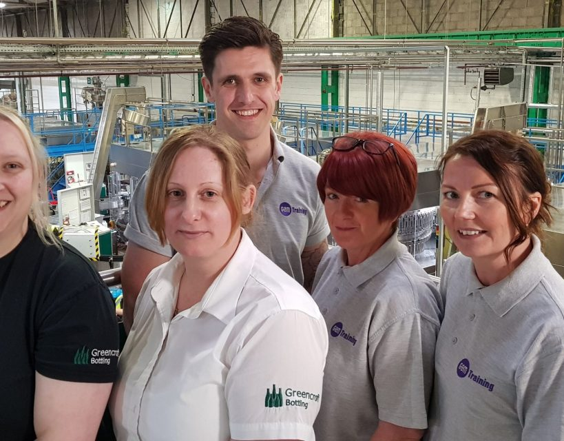 Fast growing wine bottling company strengthens team with training company support