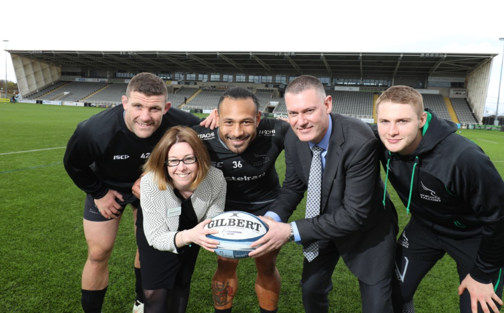 Newcastle Falcons strike healthcare partnership with Nuffield