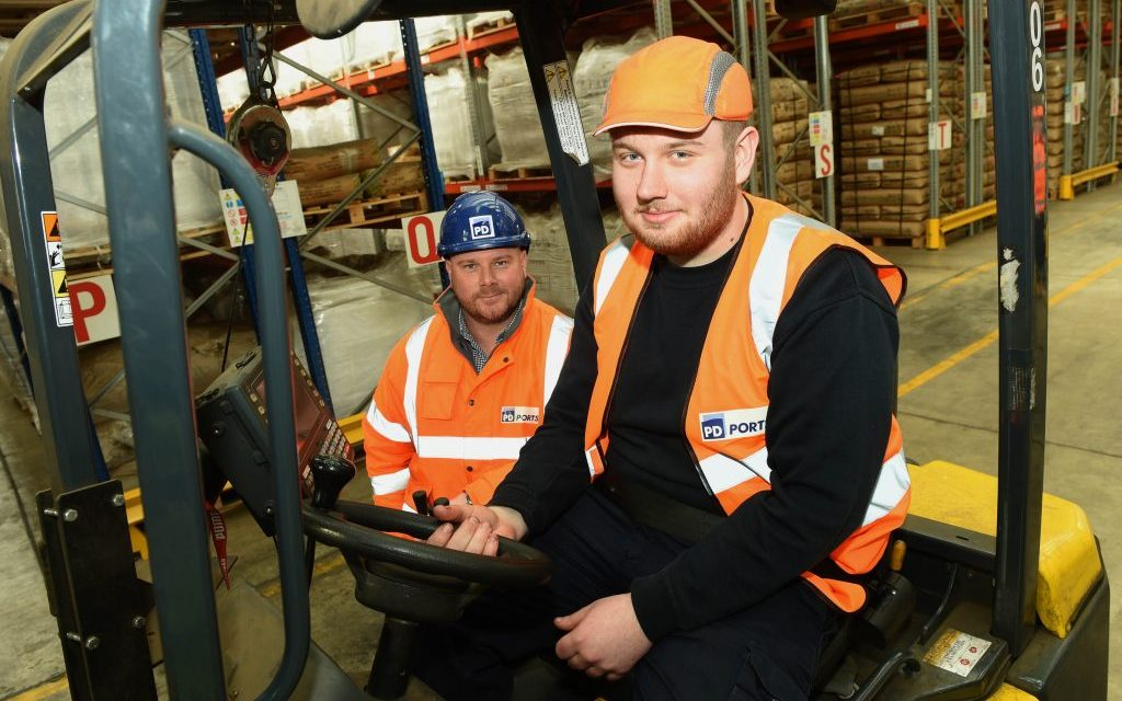 PD Ports strengthens team with appointment of Logistics Academy graduate