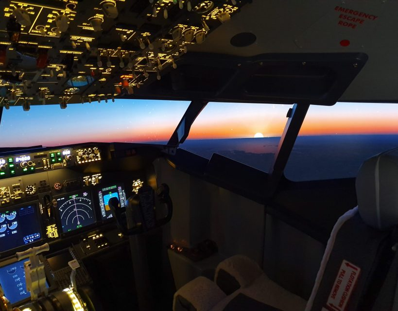 Boeing 737 simulator proves a hit following Newcastle launch