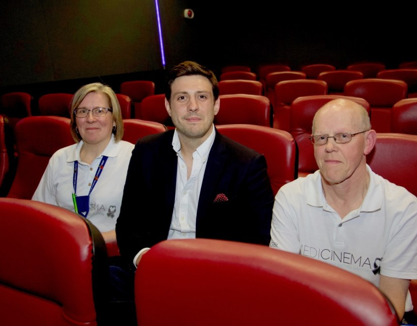 RVI cinema charity to benefit from £28,000 to help hospital patients