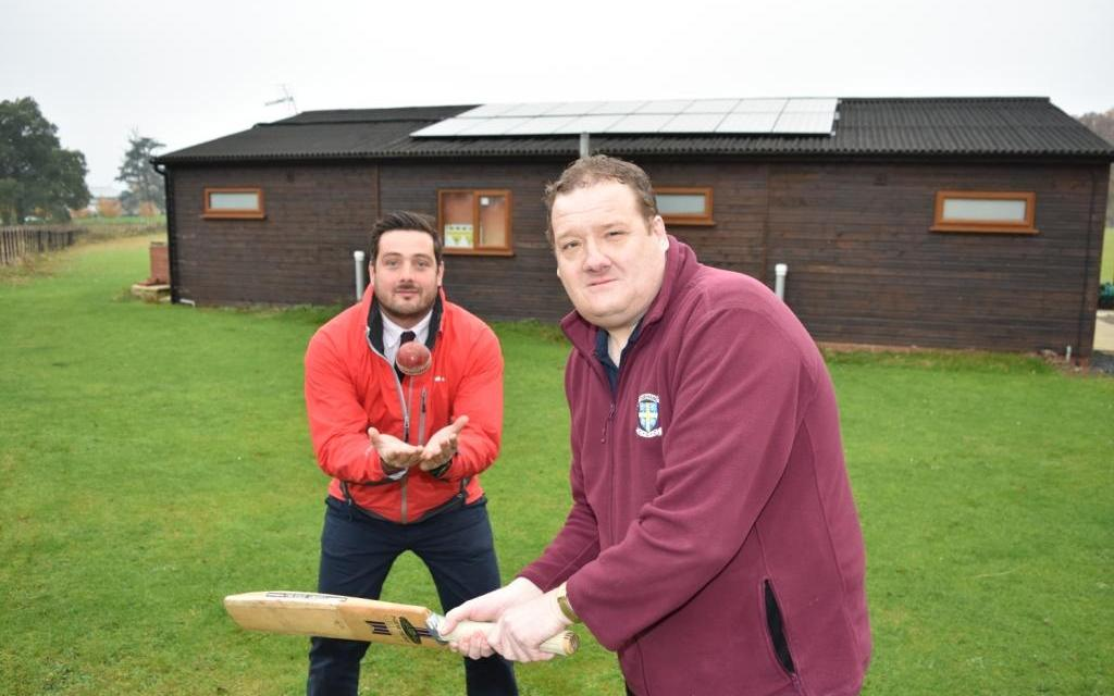Darlington cricket club powered up thanks to grant from Banks Group