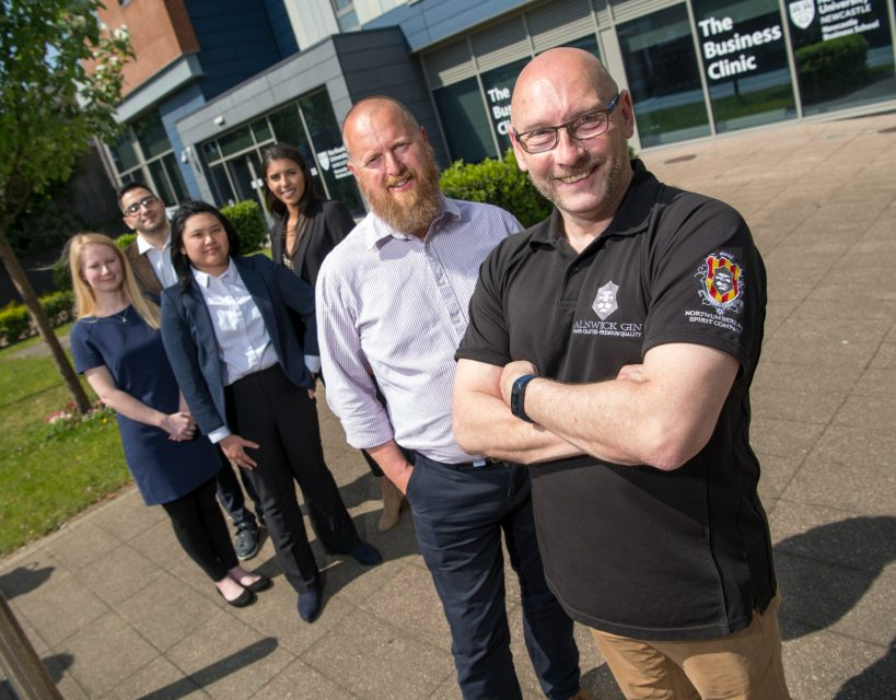 Business students are just the tonic for fast growing Alnwick Gin