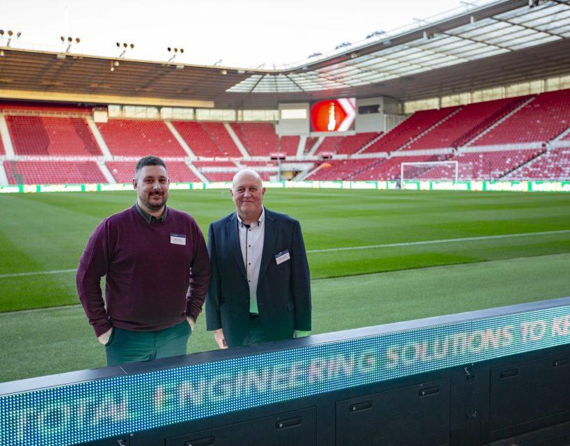Stockton company agrees high profile Middlesbrough FC partnership