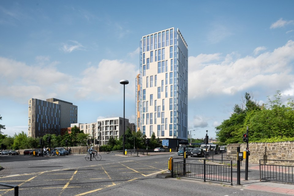 £15m residential scheme to complete emerging quarter of Newcastle