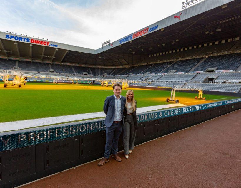 Hospitality recruitment agency agrees Newcastle United partnership