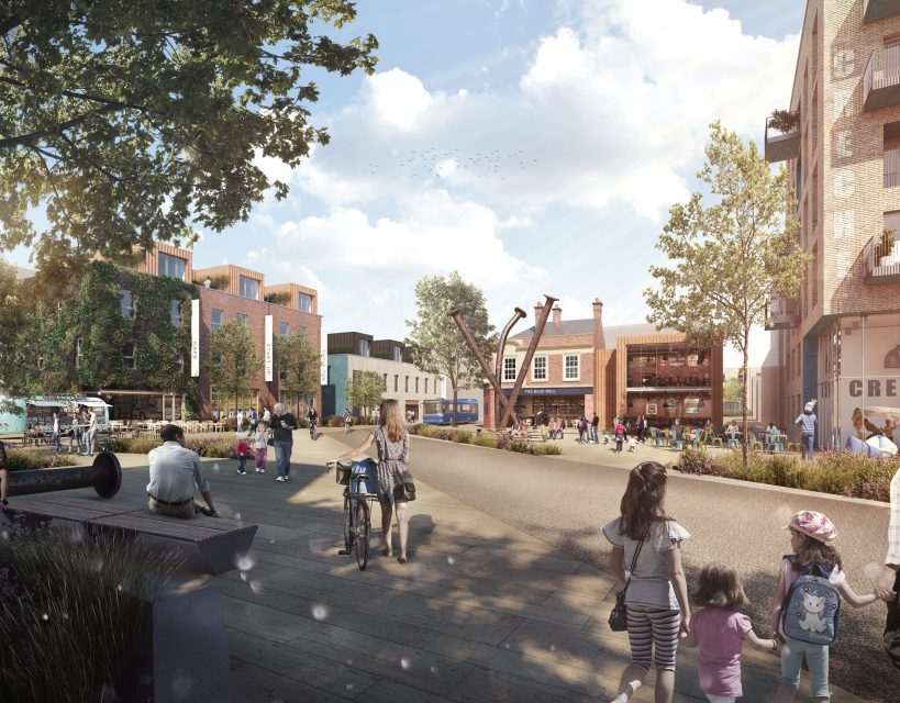 £90m plans to transform Gateshead town centre have been unveiled