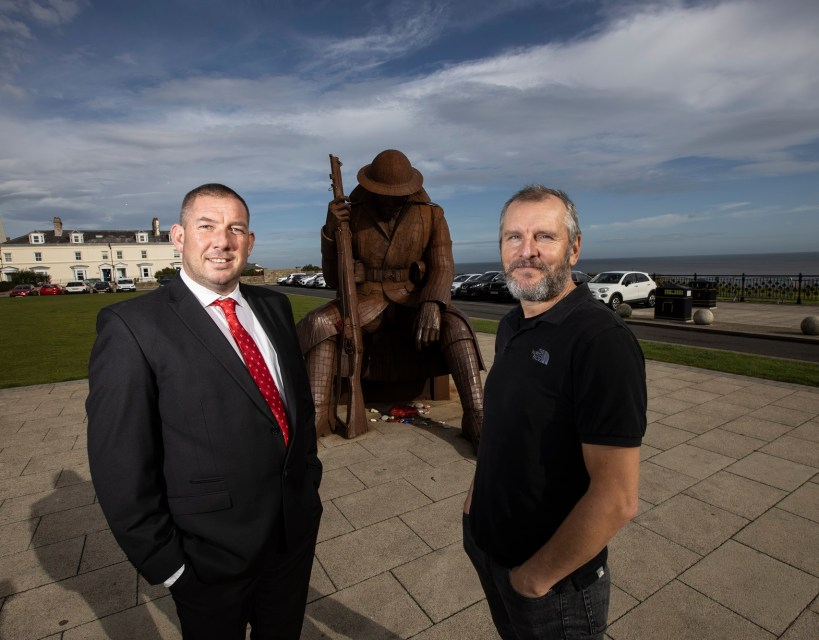 'Tommy' artist to officially open Seaham business centre