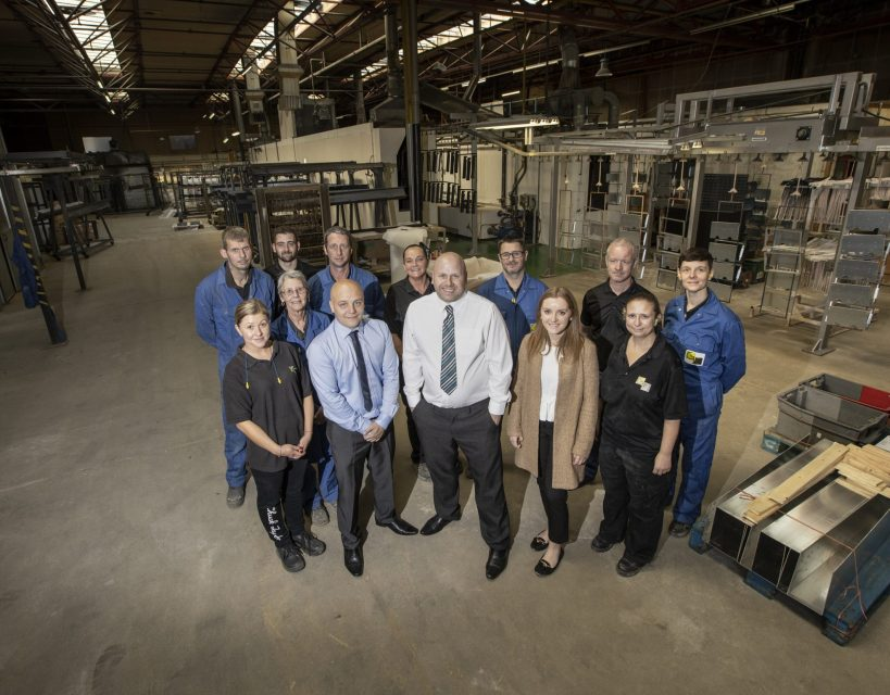 Coatings firm plans for growth after investment in new machinery