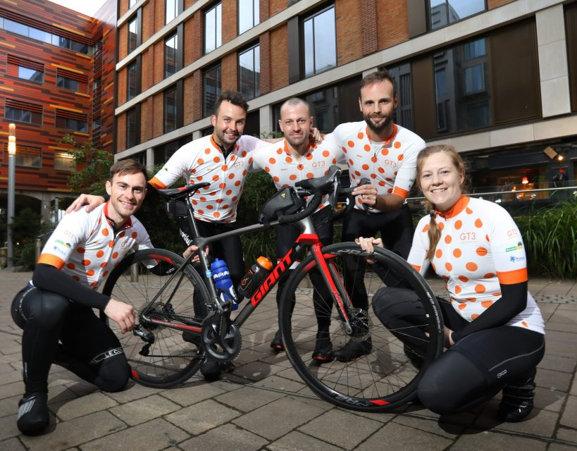 Staff get on their bikes to raise £2,500 for charity