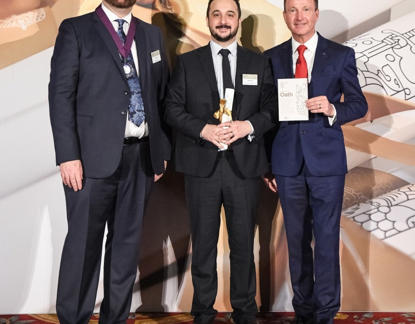 Prestigious industry award for employee at one of Berwick's largest firms