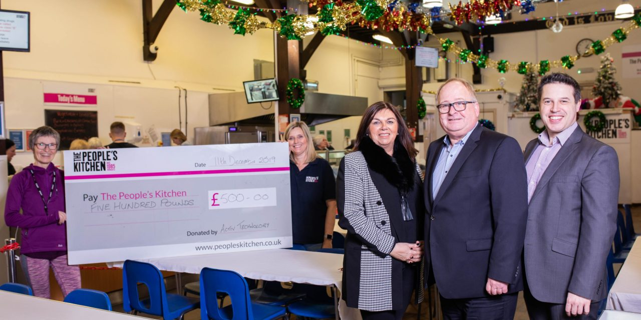 Technology firm gets into the festive spirit to support community food project