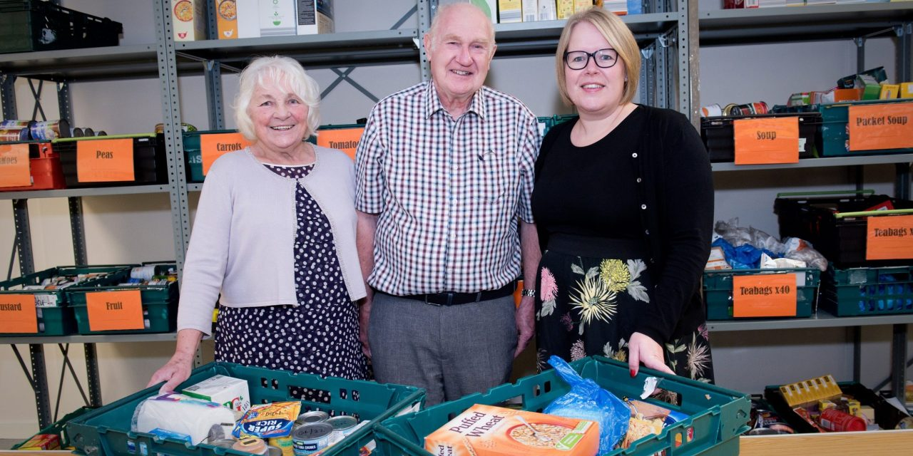 Community foodbank finds permanent home at Washington shopping centre