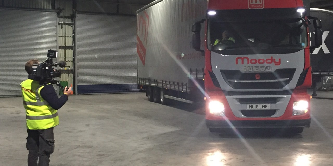 Northumberland lorry driver to feature on BBC TV series