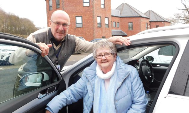 Grant helps keep Northumberland healthcare charity's drivers on the roads