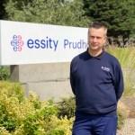 Global manufacturer Essity appoints new trainer to lead award winning apprenticeship scheme