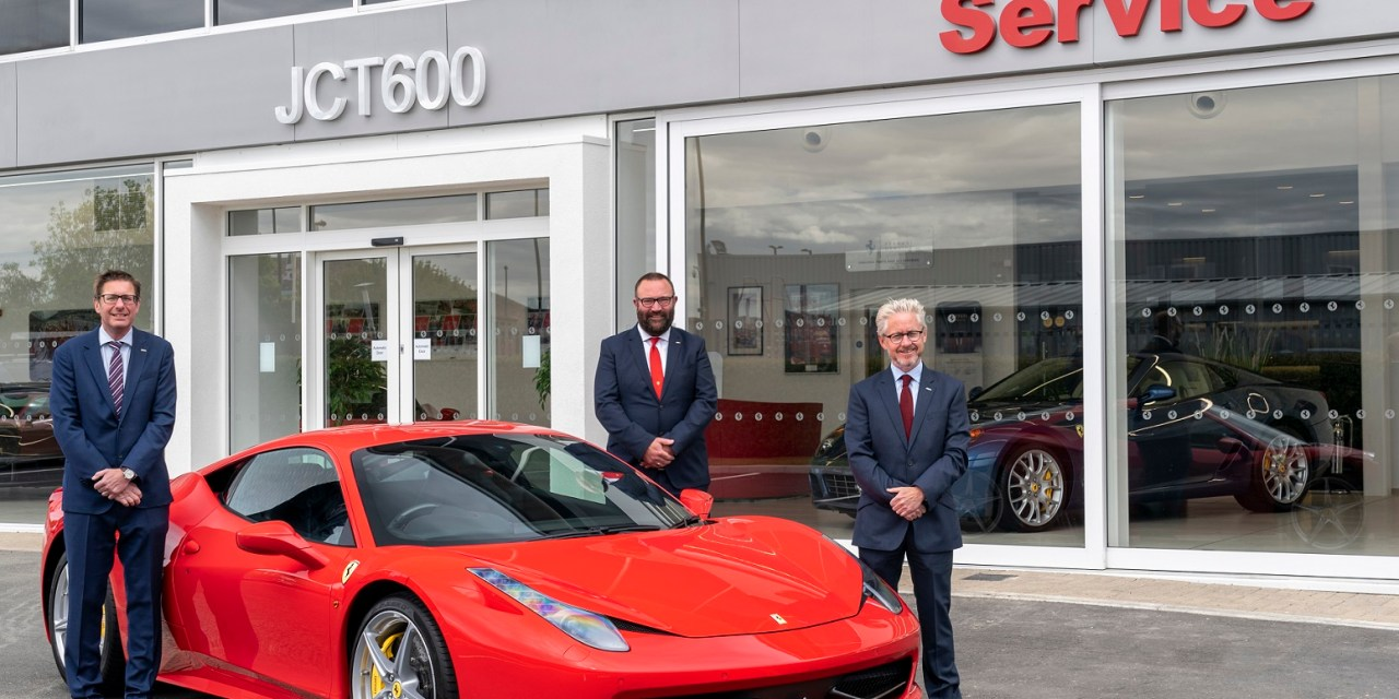 Ferrari opens after sales centre in Newcastle