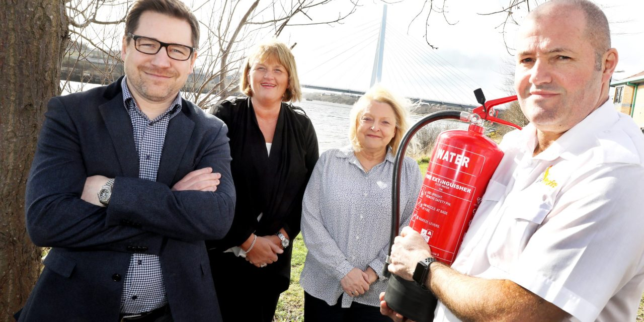 Fire safety and training company rises from the ashes and plans for growth