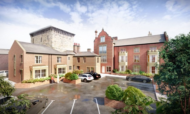 Grade II listed building in Northumberland to be be converted into new homes