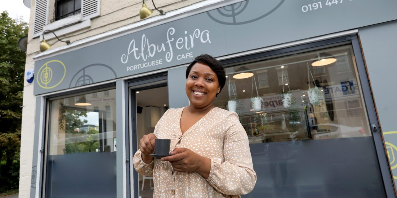 Dadinha has the recipe for success as she opens her own cafe