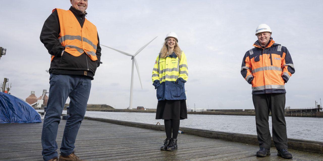 Engineering partnership makes light work of heavy lifting at Port of Blyth