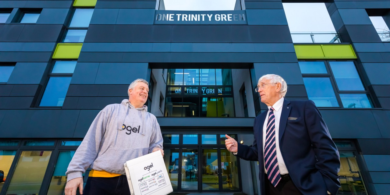Entrepreneur scores hat trick with move into One Trinity Green