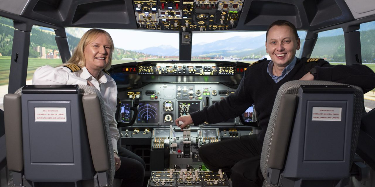 Husband and wife are flying high as their flight simulation business takes off