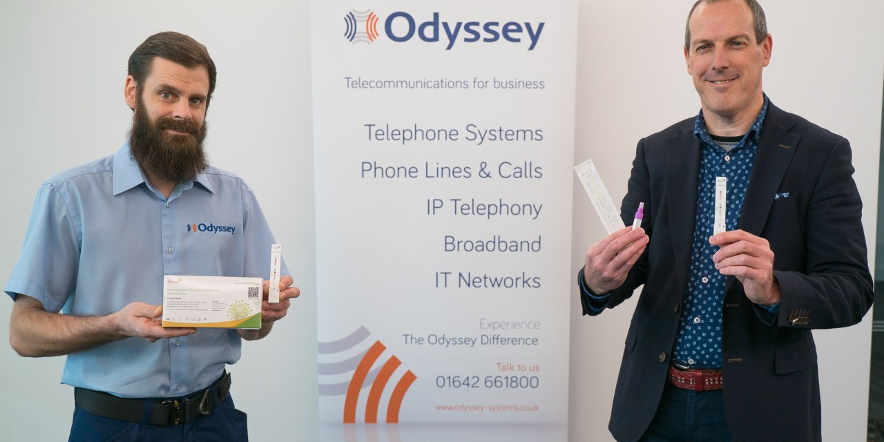 Stockton-based Odyssey Systems invests in rapid Covid tests for staff