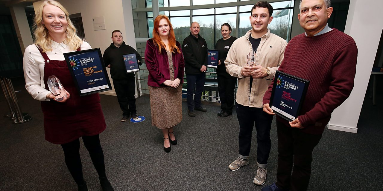 North Tyneside businesses recognised for their community work during COVID crisis