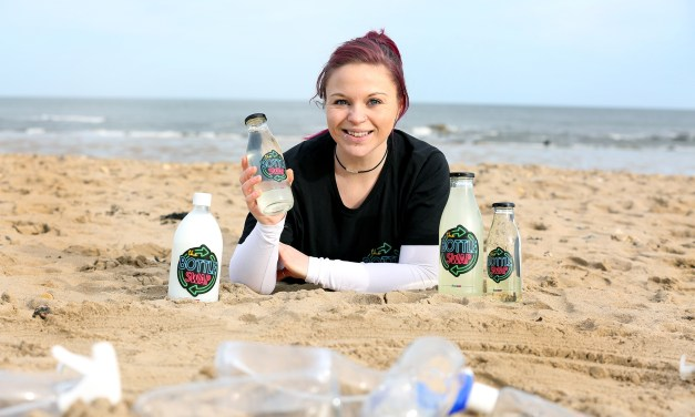 Diver Helen hopes to make a big splash with new business The Bottle Swap