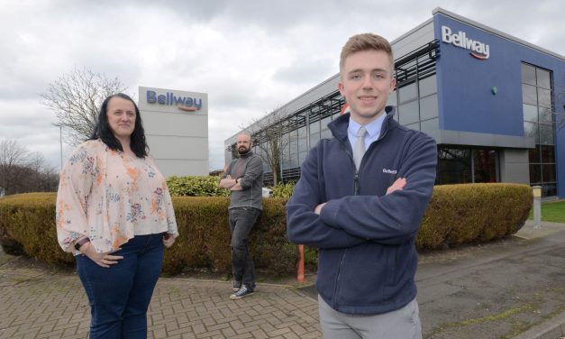 Trainee quantity surveyor named one of Bellway's apprentices of the year