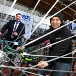 SOS Group answers call for help from North East charity Recyke y'Bike