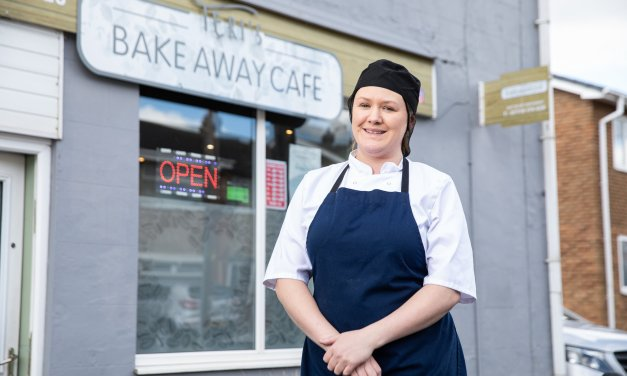 Cafe owner cooks up a storm after opening just four weeks before the first lockdown