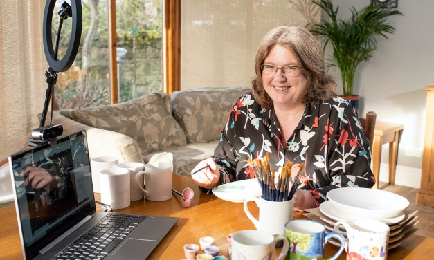 Warkworth mum shows employers how the medium of pottery can help staff back to work