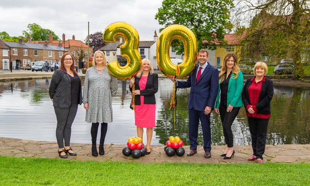 Thirty gifts in 30 days for Teesside estate agency's birthday