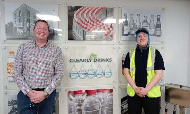 Soft drinks manufacturer teams up with college to nurture and train future talent