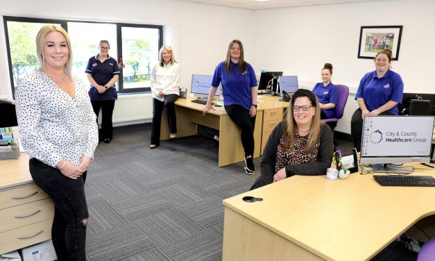 Investment in staff health and wellbeing sees care company move to new offices